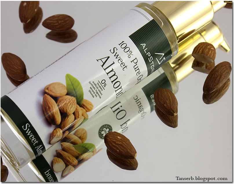 Alpstories 100% Pure Organic Sweet Almond Oil. Миндальное масло