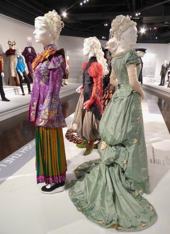Alice Through the Looking Glass film costumes