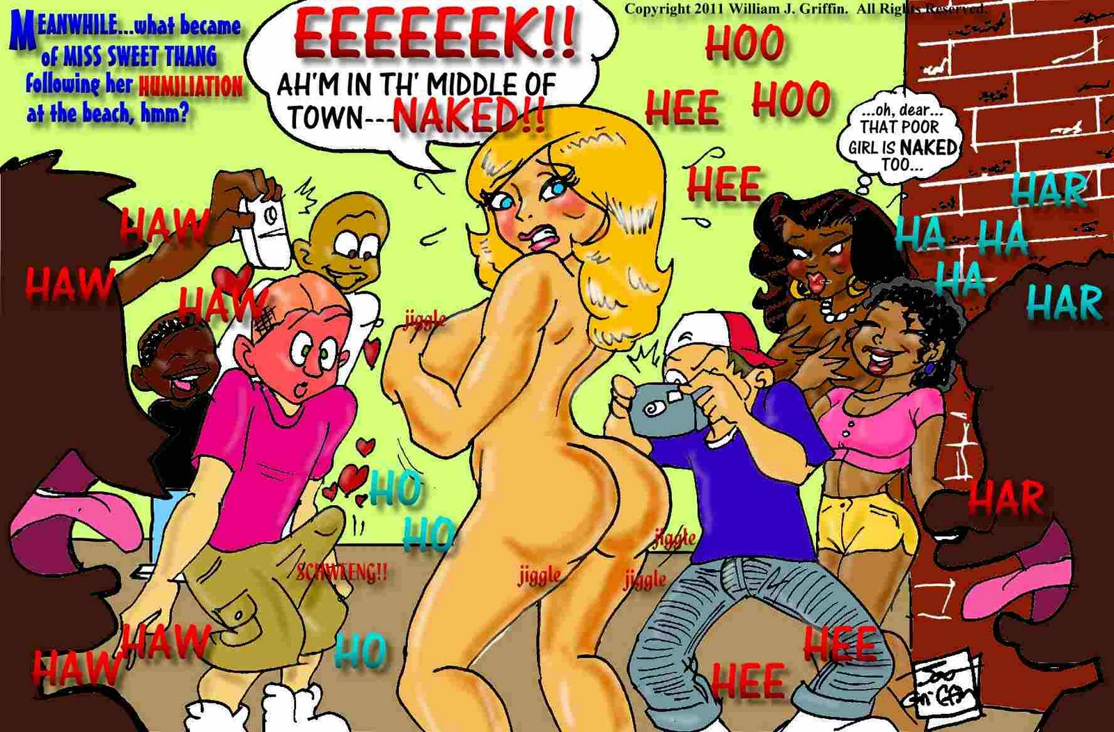 3d cartoon babe gets fucked from behind 4