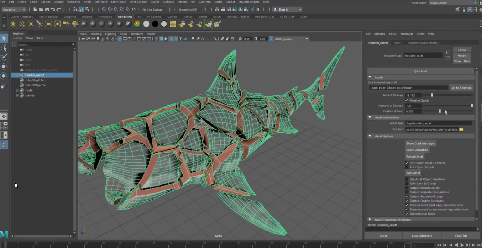 Houdini Engine for Autodesk Maya and 3ds Max - Plugins
