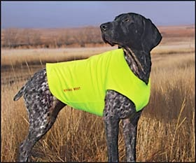 e5f7681bb7745 Both Cleo and Luna have these vests and they wear them when hunting in  extreme cold or if they go to daycare and it will be under 25 degrees.