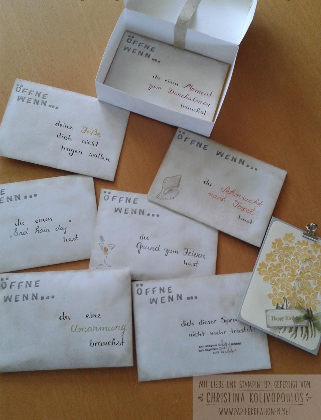 Persönliches Geschenk Für Beste Freundin Diy Diy Geschenkbox Für