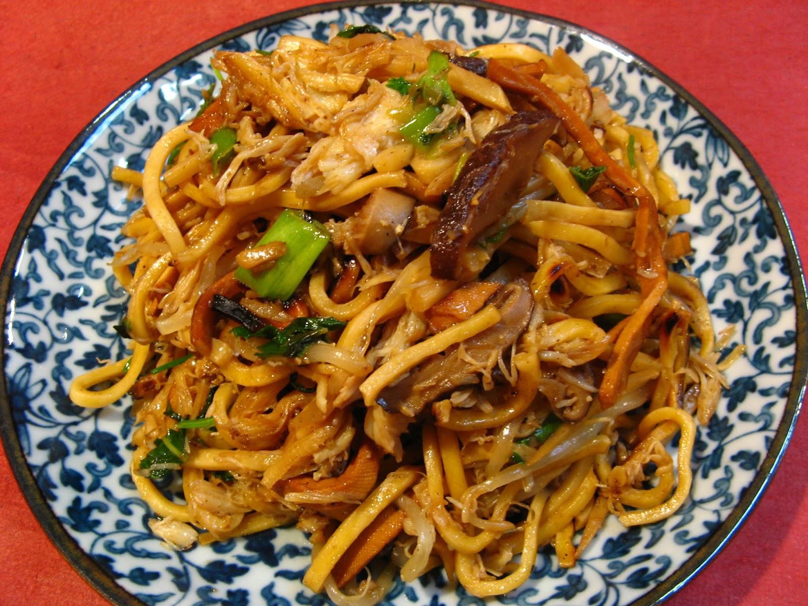 Ginger Scallion Dungeness Crab Noodles (薑葱北美大肉蟹炒麵 ...