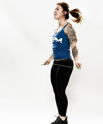 Emily Abbott exercising