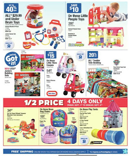 Star Wars Toys r us flyer - Lego Star Wars: The Last Jedi Building Sets +more