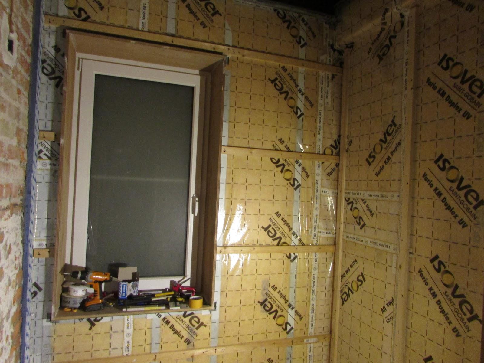 verbouwing van ons ouderlijk huis: voorzetwanden badkamer 3