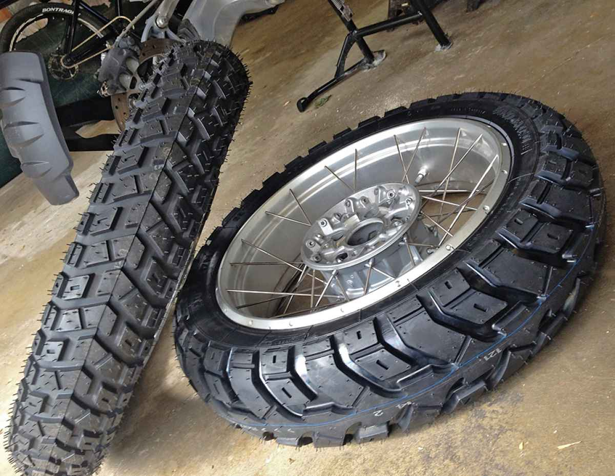 kamoklr klr650 tire considerations. Black Bedroom Furniture Sets. Home Design Ideas