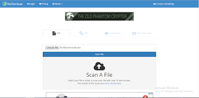 Scan Your Files Virus Online