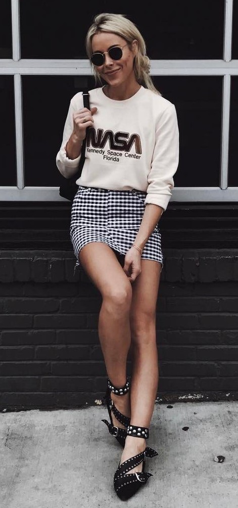 street style obsession: top + skirts
