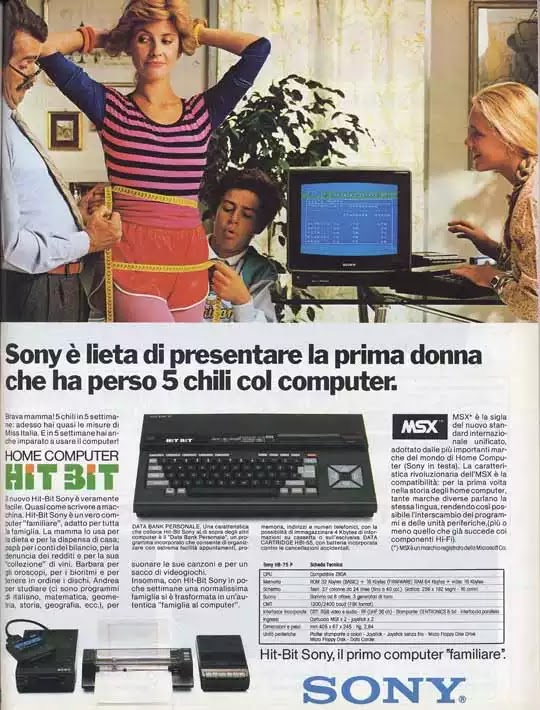 Old days' Computer Advertisements 28