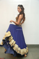 Malvika Raaj in Golden Choli and Skirt at Jayadev Pre Release Function 2017 ~  Exclusive 090.JPG