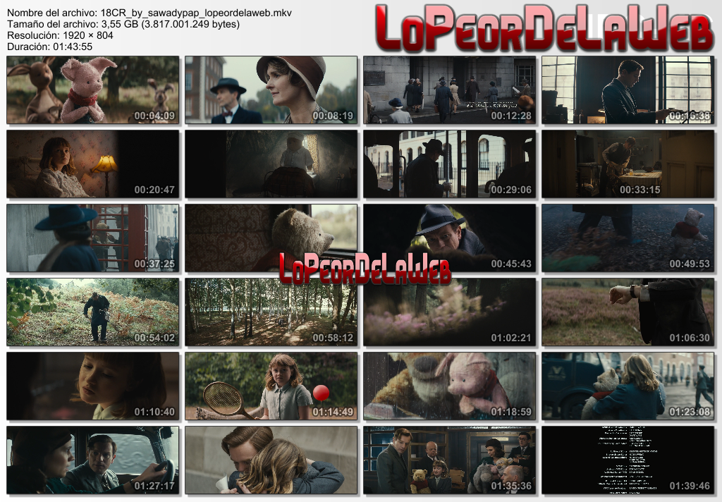 Christopher Robin [2018] [BBRip 1080p] [Dual Audio]
