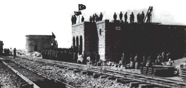 محطة المعظّم, إحدى محطات سكة الحديد بين تبوك ومدائن صالح 1908م