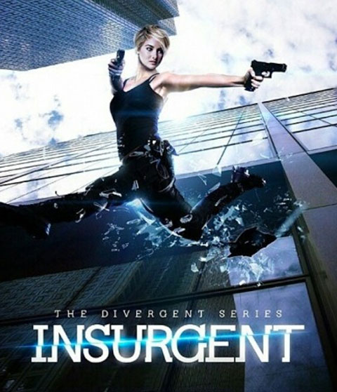 Insurgent 2015 Dual Audio  HDRip 480p ESub x264