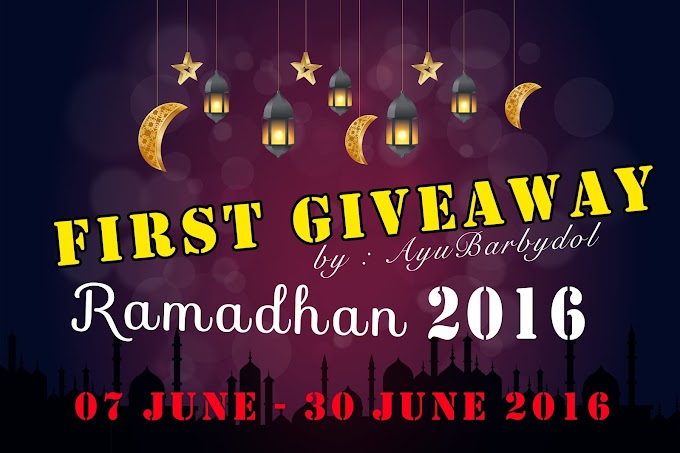 FIRST GIVEAWAY RAMADHAN 2016 BY AYU BARBYDOL