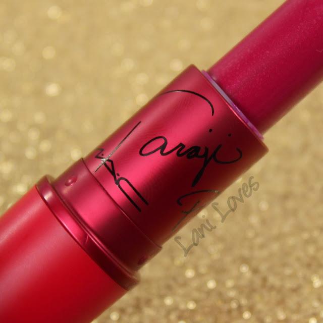 MAC MONDAY | Viva Glam Taraji P. Henson Lipstick Swatches & Review