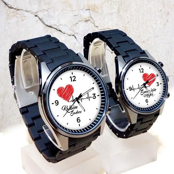 sevgililer için kol saati