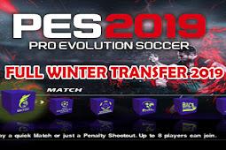 PES 2019 Full Winter Transfer 19 dengan Kamera PS4 - PS2