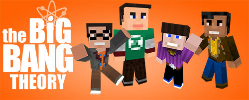 Series Are Cool: The Big Bang Theory à la sauce Minecraft