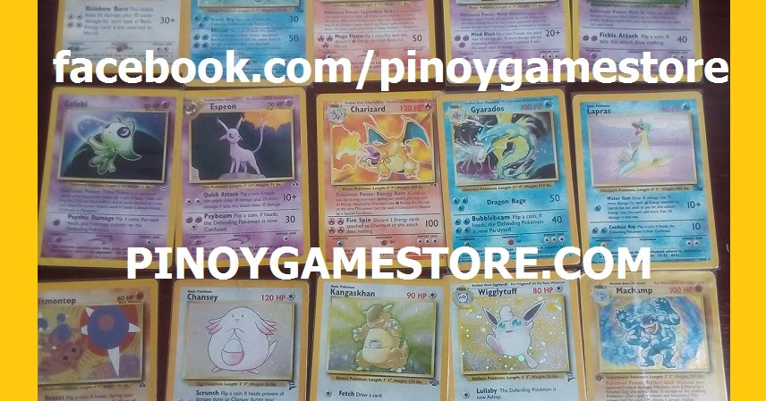 Pokemon Cards Philippines Pinoy Game Store Online