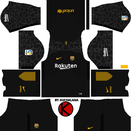 Barcelona Nike Kits 2017 2018 Dream League Soccer Kuchalana