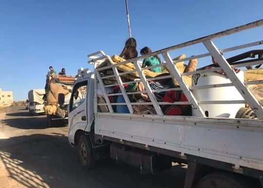 افتتاح 3 ممرات إنسانية آمنة لخروج المدنيين من مناطق انتشار الإرهابيين في ريف درعا