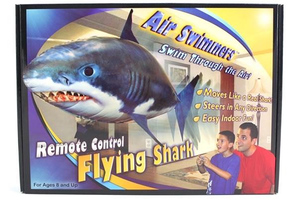 「對了,近來就被中國大陸媒體爆料,空中大白鯊) Air Swimmers Remote ...