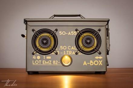 THODIO .50 CAL A-BOX™ | DIE MUNITIONSBOX ALS LUXUS BOOMBOX FÜR ECHTE KERLE