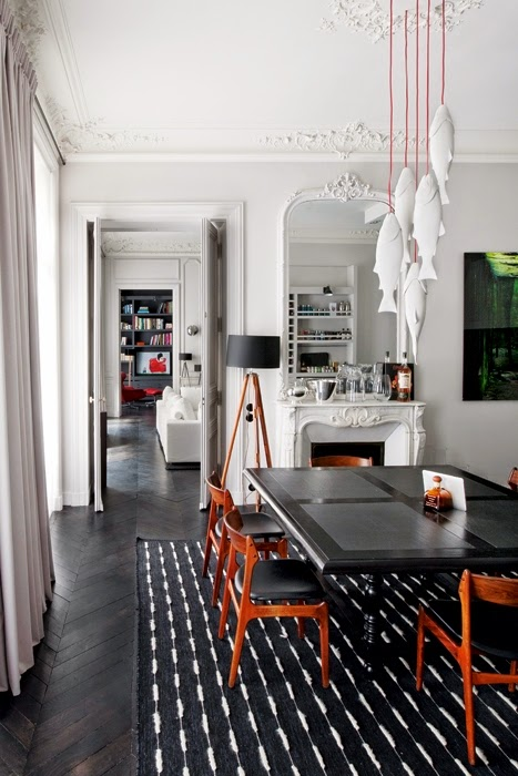 Revisiting A Classic and Modern Parisian Apartment - photo#4