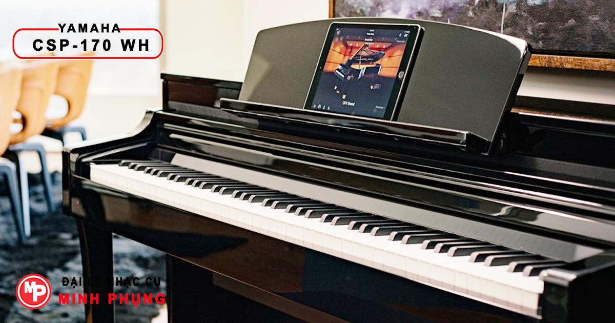 Đàn Piano Điện Yamaha Clavinova CSP-170 WH