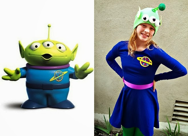Finding Bonggamom How To Make A Toy Story Alien Costume