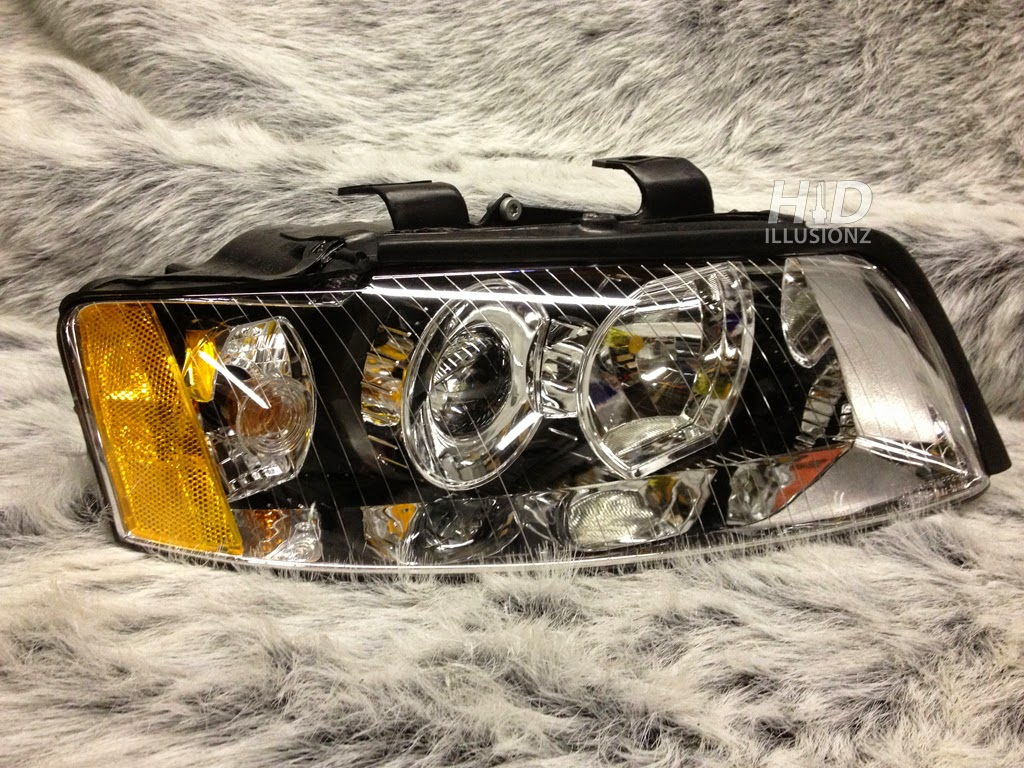 HIDILLUSIONZ: Lifetime Warranty, HID Retrofit Projector Headlights