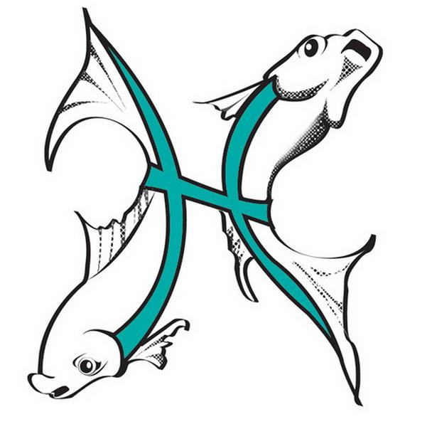 Красивые татуировки знака зодиака Рыбы