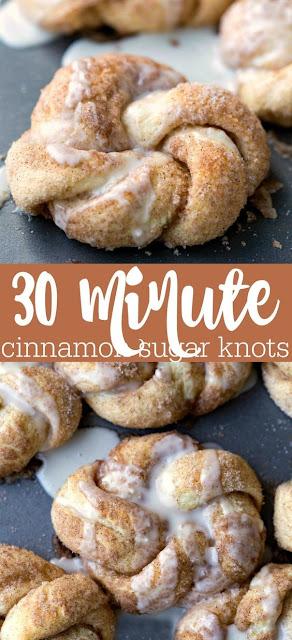 Delicious Cinnamon Sugar Knots