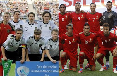 Alemania vs Portugal
