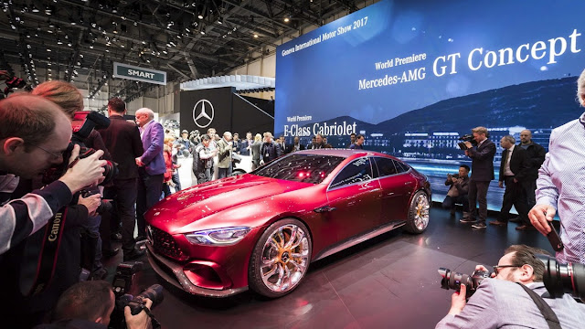 Mercedes AMG GT Four GT Concept