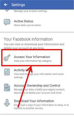 Facebook data download kaise kare? (2020)