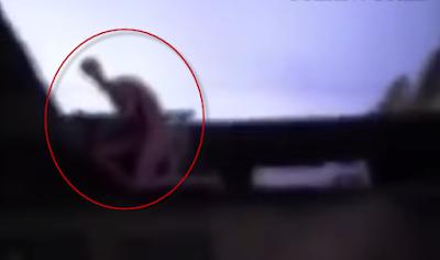 Humanoide slender alien aparece en Nuevo Laredo Mexico