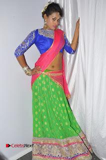 Nisha Stills in Half Saree at TPL 2016 (Telangana Premier League) Grand Launch Set 2