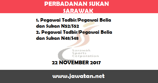 Jawatan Kosong di Perbadanan Sukan Sarawak