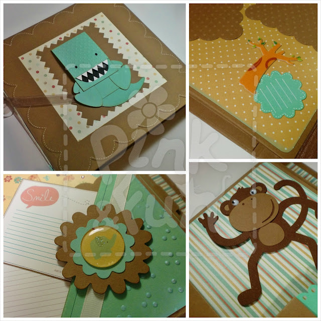 Scrapbook Baby Boy Album - Trimcraft First Edition