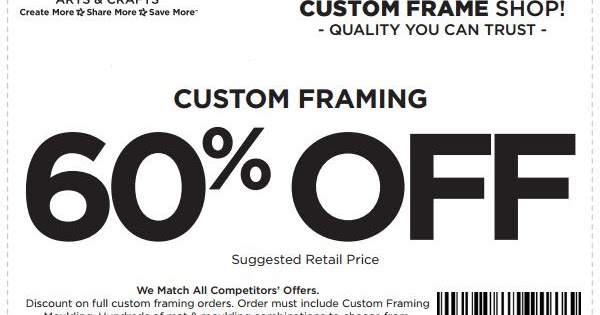 image regarding Ac Moore Coupon Printable identify Ac Moore Customized Frames RevolutionHR