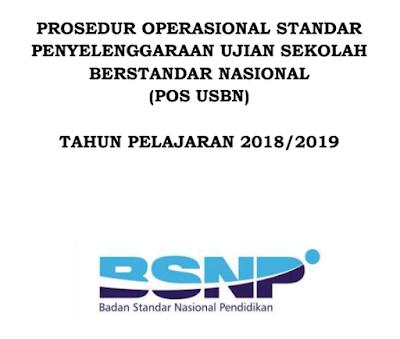 POS USBN Tahun Pelajaran 2018/ 2019