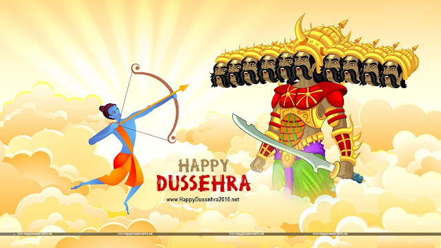 Happy Dussehra Images 2016, Hd Wallpapers, Pictures, Photos, Whats app Pics, Facebook Covers
