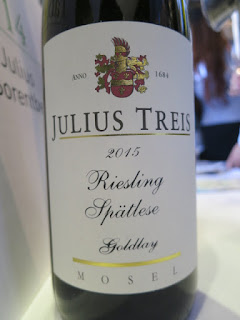 Julius Treis Goldlay Riesling Spätlese 2015 - Mosel, Germany (91 pts)