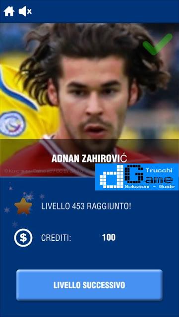 Calcio Quiz 2017 soluzione livello 451-460 | Parola e foto