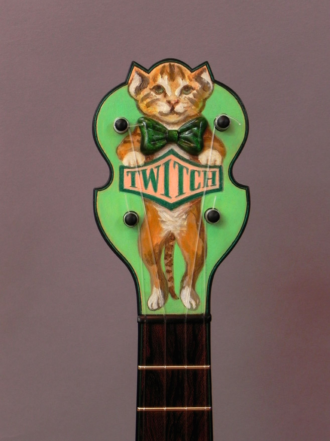 NEW: Tickler #3 Twitch Concert Uke designed by Amy Crehore