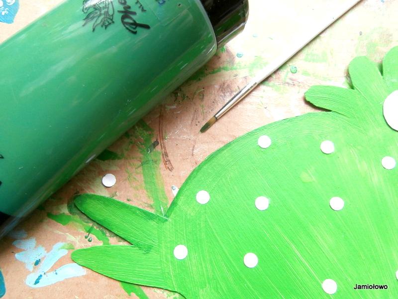 malowanie ozdób na kurze