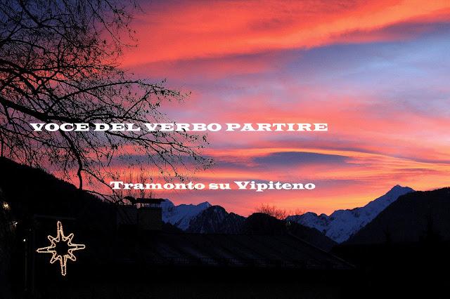 BRESSANONE E VIPITENO: TRAMONTO SU VIPITENO