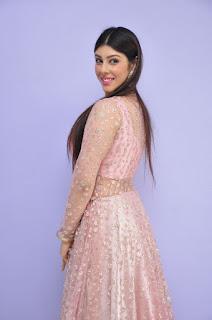 Actress Aditi Singh Latest Stills in Designer Dress at Guppedantha Prema Pressmeet 0020.jpg